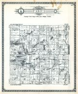 Fabius Township, Pleasant Lake, Clear Lake, Corey Lake, St. Joseph County 1930