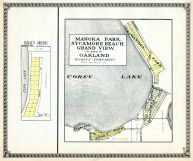 Manoka Park, Sycamore Beach, Grand View, Oakland, Balks Grove, Cory Lake, St. Joseph County 1930