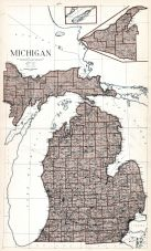 Michigan State Map, St. Joseph County 1930