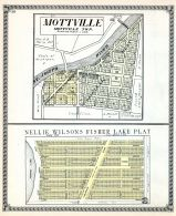Mottville, Nellie Wilsons Fisher Lake Plat, St. Joseph County 1930