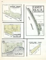 North Shore, Sandy Beach, Bluff Beach, Sunny Side Park, St. Joseph County 1930