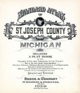 Title Page, St. Joseph County 1930