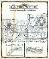 White Pigeon Township, Klingers Lake, Lakewood Beach, Bertha Grove, St. Joseph County 1930