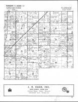Florence Township - East, St. Joseph County 1958