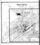Decatur, Deerfield - Left, Van Buren County 1873