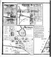 Deerfield, Columbia, Grand Junction, Kendall - Left, Van Buren County 1873