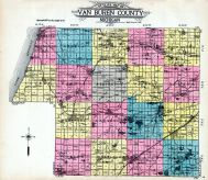 Outline Map, Van Buren County 1912