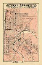 Ann Arbor City - North, Washtenaw County 1874