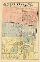 Ann Arbor City - South, Washtenaw County 1874