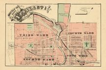Ypsilanti City - North, Washtenaw County 1874
