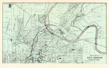 Ann Arbor City - North, Washtenaw County 1895