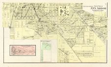 Ann Arbor City - South, Washtenaw County 1895