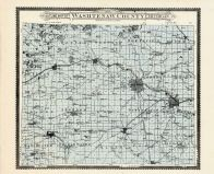County Map, Washtenaw County 1895