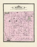 Webster Township, Washtenaw County 1895