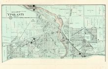 Ypsilanti City - North, Washtenaw County 1895