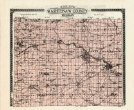 County Map, Washtenaw County 1915