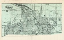 Ypsilanti - North, Washtenaw County 1915