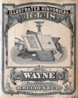 Wayne County 1876 with Detroit