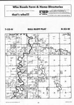 Ball Bluff T52N-R23W, Aitkin County 1992 Published by Farm and Home Publishers, LTD