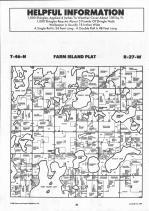 Farm Island T46N-R27W, Aitkin County 1992 Published by Farm and Home Publishers, LTD