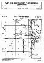 Hill Lake T52N-R26W, Aitkin County 1992 Published by Farm and Home Publishers, LTD
