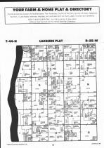 Lakeside T44N-R25W, Aitkin County 1992 Published by Farm and Home Publishers, LTD