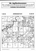 Workman T49N-R24W, Aitkin County 1992 Published by Farm and Home Publishers, LTD