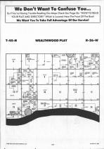 Wealthwood T45N-R26W, Aitkin County 1992 Published by Farm and Home Publishers, LTD