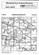 Nordland T46N-R26W, Aitkin County 1992 Published by Farm and Home Publishers, LTD