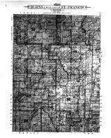 Burns & West Part of St Francis Townships, Nowthen, Anoka and Hennepin Counties 1914