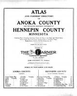 Title Page, Anoka and Hennepin Counties 1914