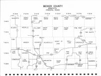 County Map, Becker County 1971
