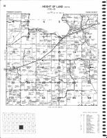 Height Of Land - South, Becker County 1980