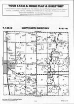 White Earth T142N-R41W, Becker County 1992 Published by Farm and Home Publishers, LTD
