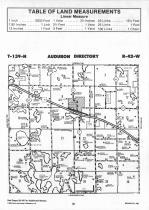 Audobon T139N-R42W, Becker County 1992 Published by Farm and Home Publishers, LTD