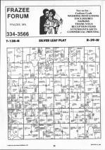 Silver Leaf T138N-R39W, Becker County 1992 Published by Farm and Home Publishers, LTD