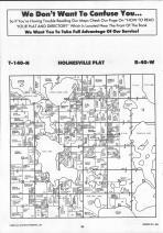 Holmesville T140N-R40W, Becker County 1992 Published by Farm and Home Publishers, LTD