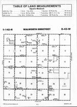 Walworth T142N-R43W, Becker County 1992 Published by Farm and Home Publishers, LTD
