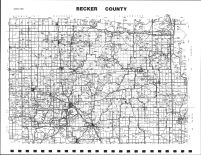 Becker County Map, Becker County 2002