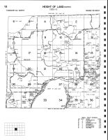 Height of Land Township - North, Becker County 2002