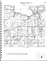 Height of Land Township - South, Becker County 2002
