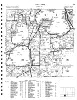 Lake View Township, Detroit Lake, Lake Sallie, Lake, Mellissa, Becker County 2002