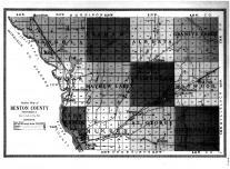 Benton County Outline Map, Benton County 1914