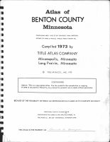 Title Page, Benton County 1973