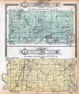 Jamestown Township, Lime Township, George Lake, Madison Lake, Idlewood, Mankato Jct., Wita Lake, Eagle Lake, Blue Earth County 1914