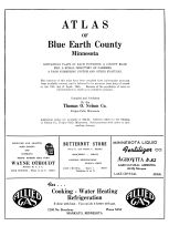 Title Page, Blue Earth County 1955
