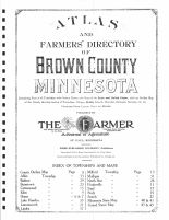Title Page and Table of Contents, Brown County 1914