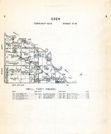 Eden Township 2, Brown County 1953