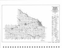 County Map 1989, Brown County 1990