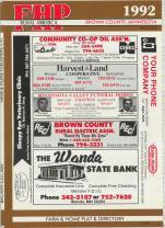 Title Page, Brown County 1992